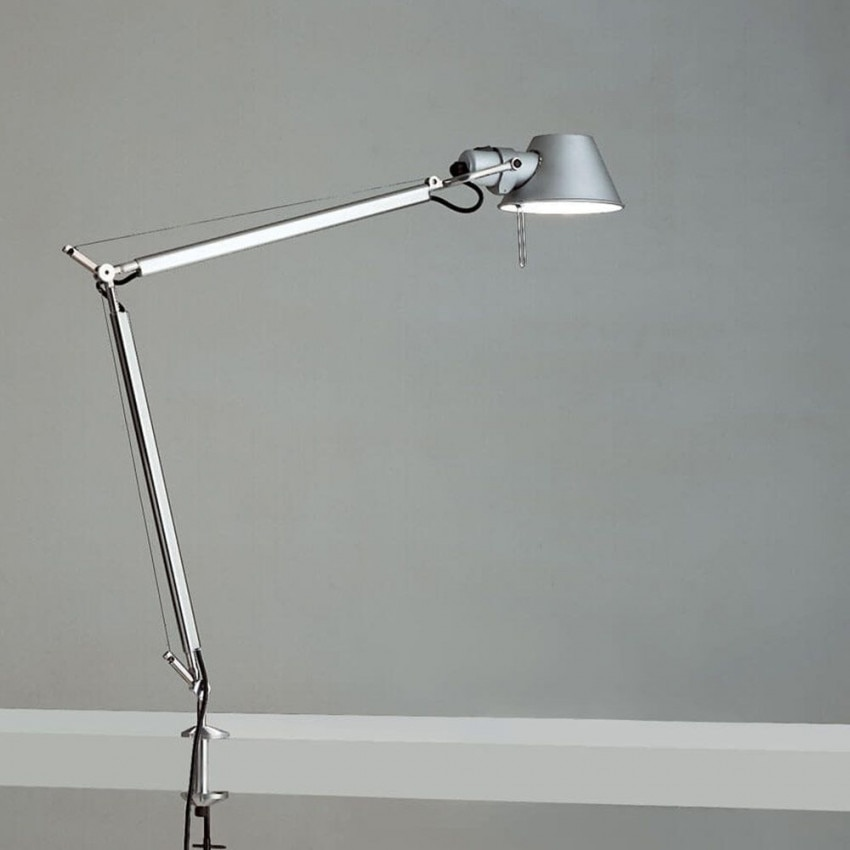 ARTEMIDE Tolomeo Table Lamp with Clip
