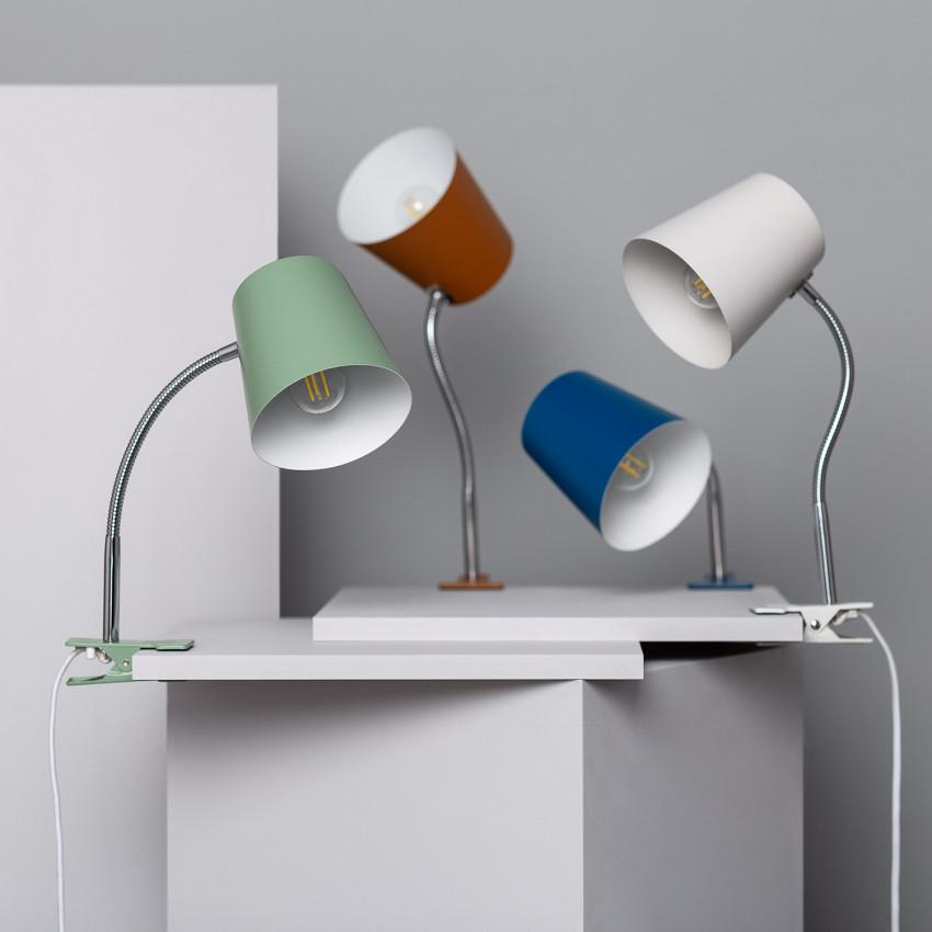 Delavan Flexo Table Lamp with Clamp