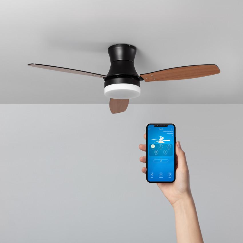 65W Diabol Smart WiFi Selectable CCT LED Ceiling Fan