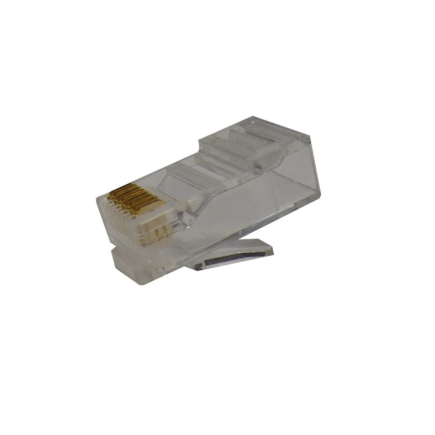 OPENETICS 0020 CAT6 UTP RJ45 Male Connector for Flexible Cable