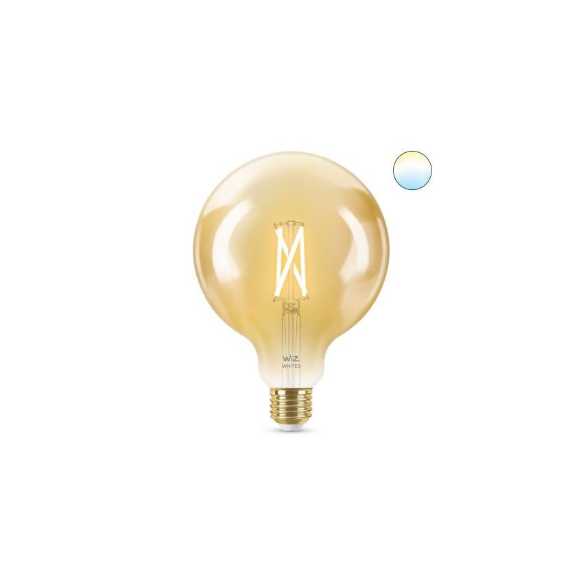 6.7W E27 G125 Smart WiFi WIZ CCT Dimmable LED Vintage Filament Bulb