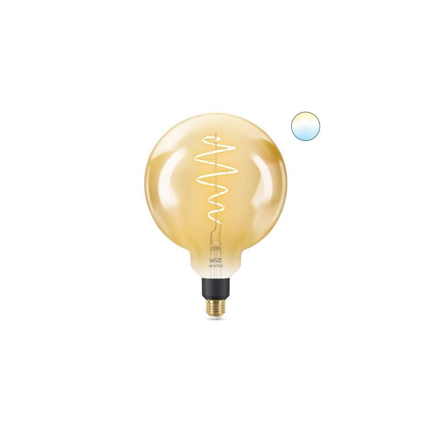 6.5W E27 G200 Smart WiFi WIZ CCT Dimmable LED Vintage Filament Bulb