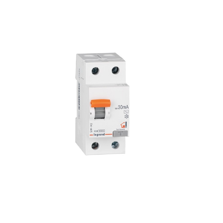 LEGRAND 402059 Class A 25-40 A 2P-30mA Superimmunised Residential RX3 Differential Switch