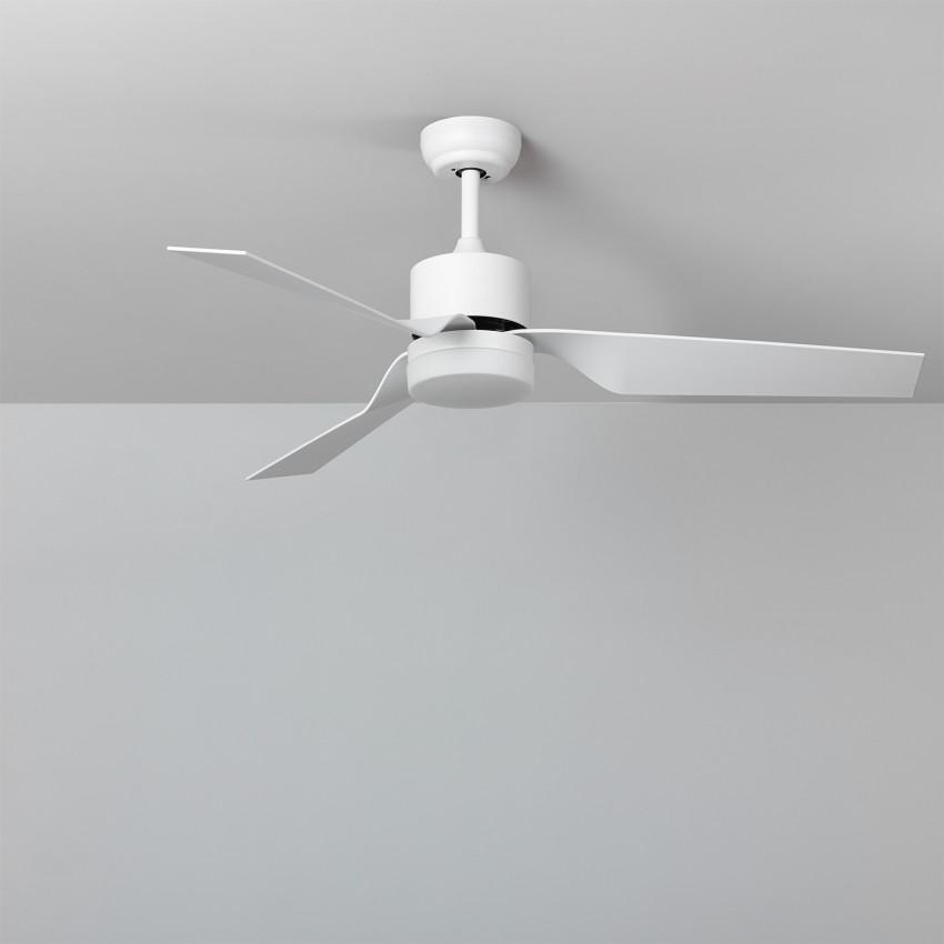 White 132cm Minimal PRO LED Ceiling Fan with DC Motor