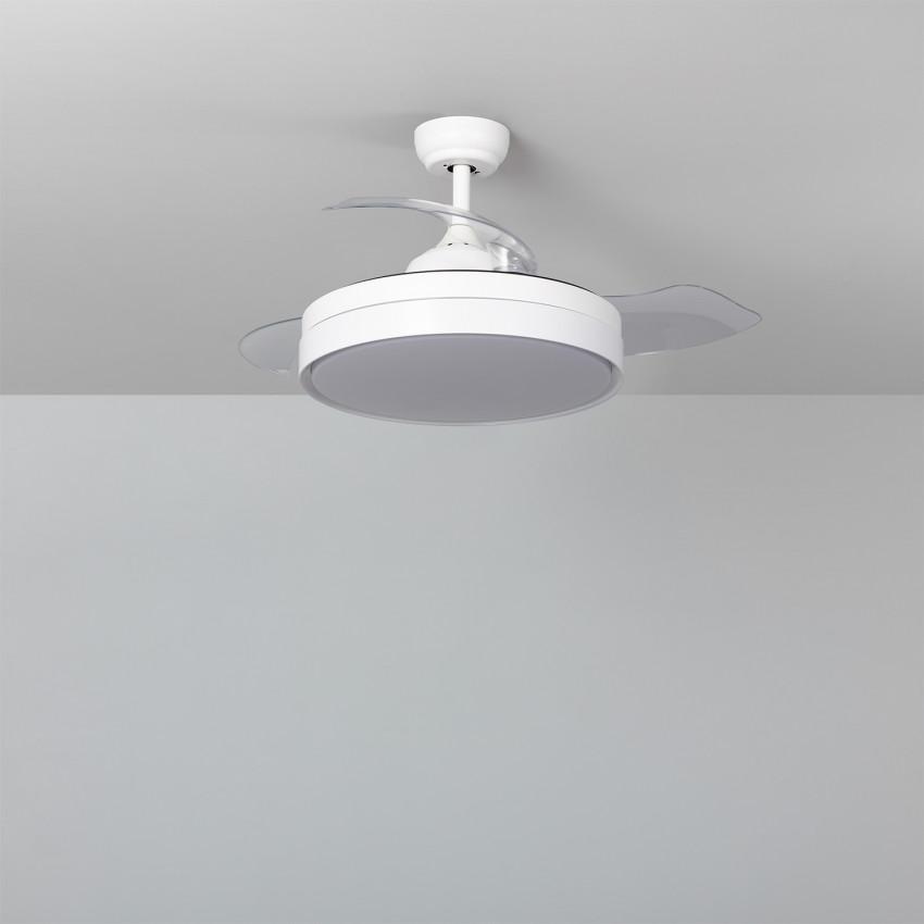 Ceiling Fan Dalori White LED 106cm DC Motor