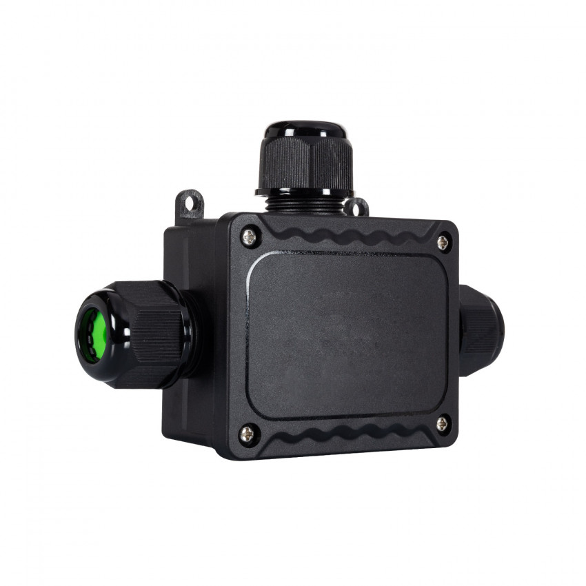 Waterproof Surface Junction Box 3 Cons IP68 (140x95x35mm )