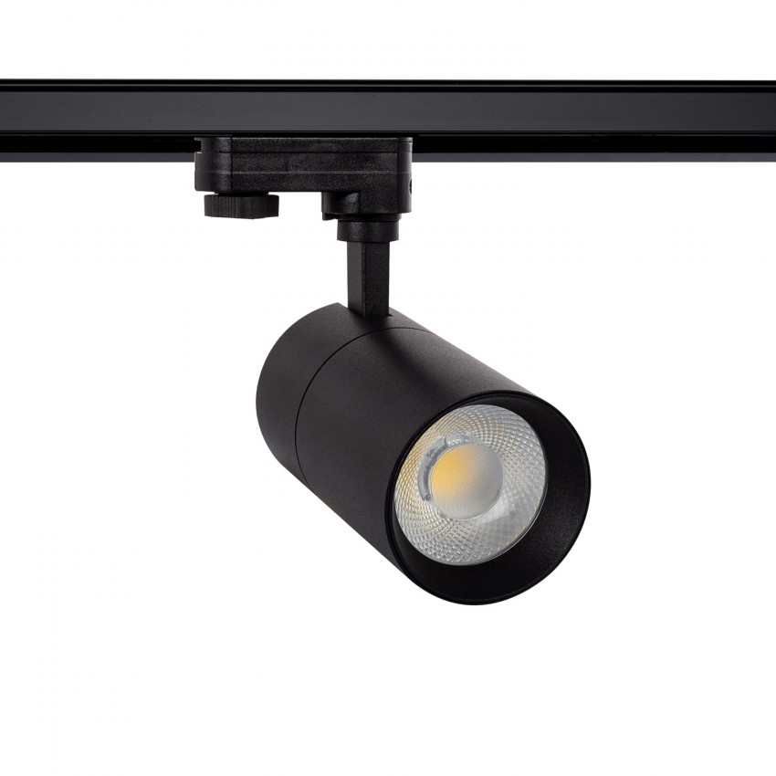 Black 30W New Mallet LED Spotlight for Three-Circuit Track (Dimmable)