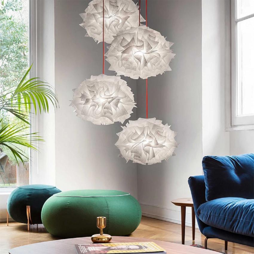 SLAMP Veli Mini Quartet Suspension Couture Pendant Lamp