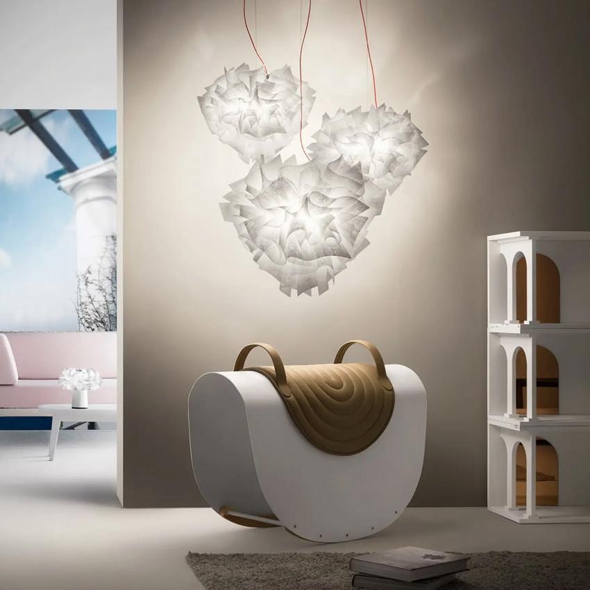 SLAMP Veli Suspension Large Couture Pendant Lamp