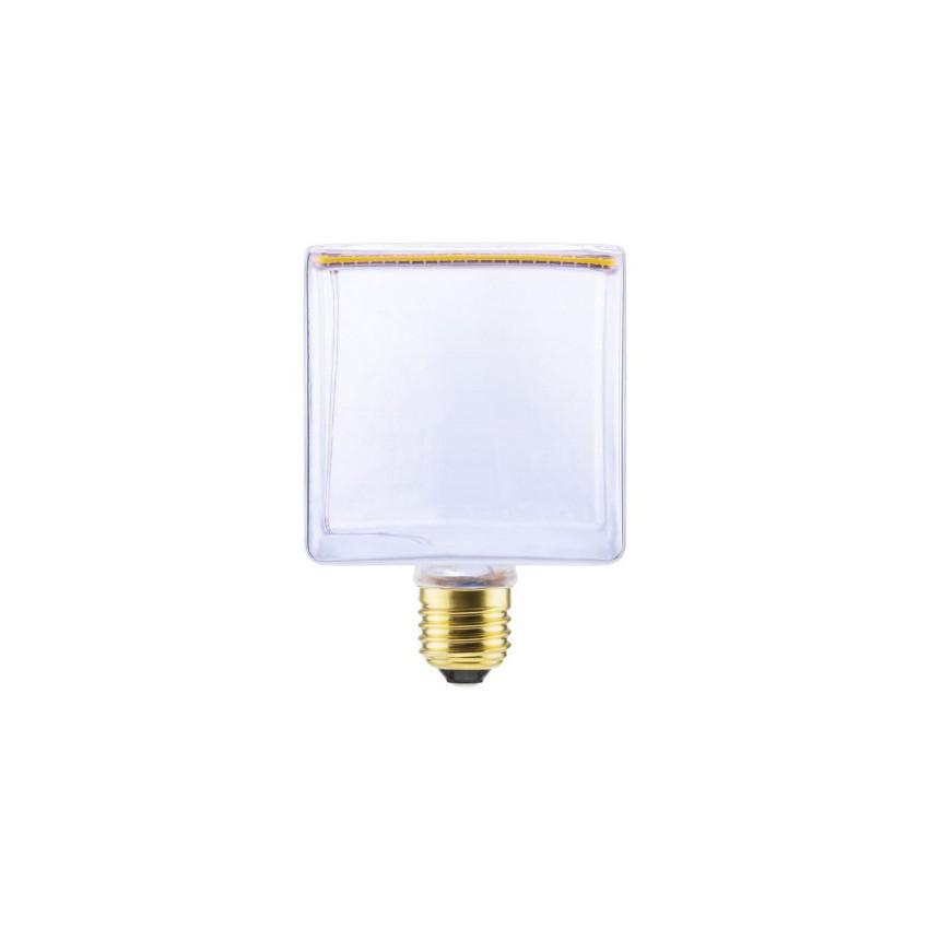 8W E27 Creative-Cables Art Cube SEG50051 Dimmable Filament LED Bulb
