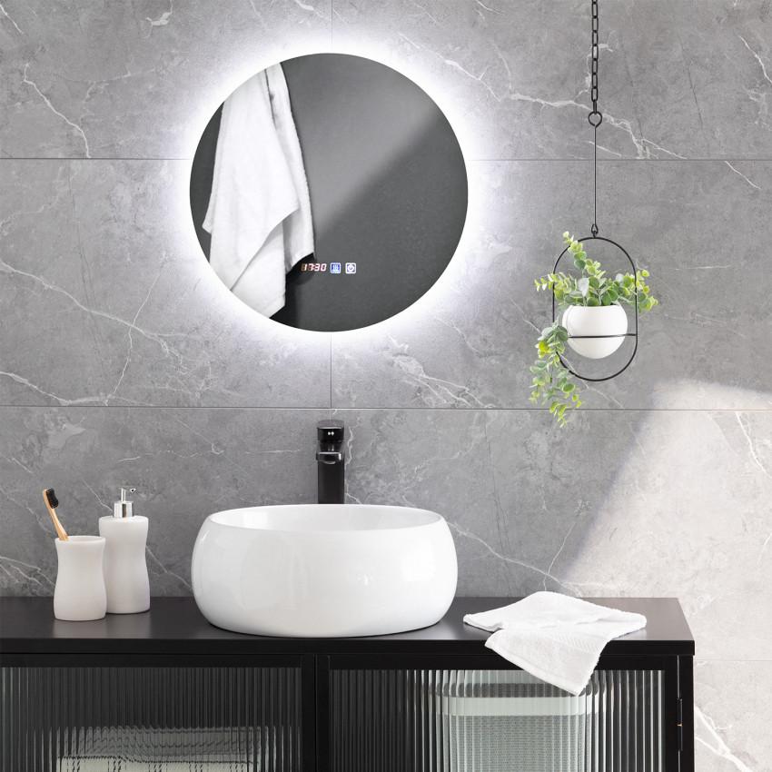 Volpe Ø45cm Anti-fog Tactile LED Decorative Mirror