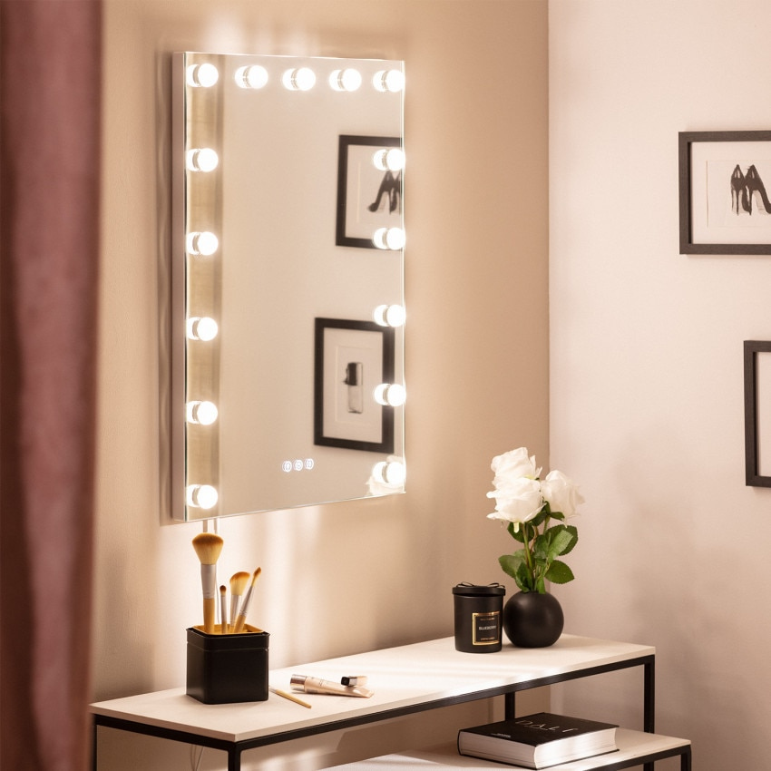 Essauira 70x50cm Decorative LED Mirror with Touch Switch