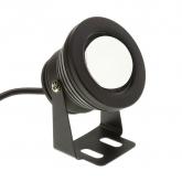 Black 7W RGB LED Surface Spotlight