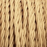 Braided Gold Design Cables