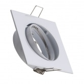 Square Tilting 83mm Halo Downlight