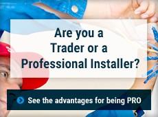 Are you a Distribuidor or a Profesional installer?